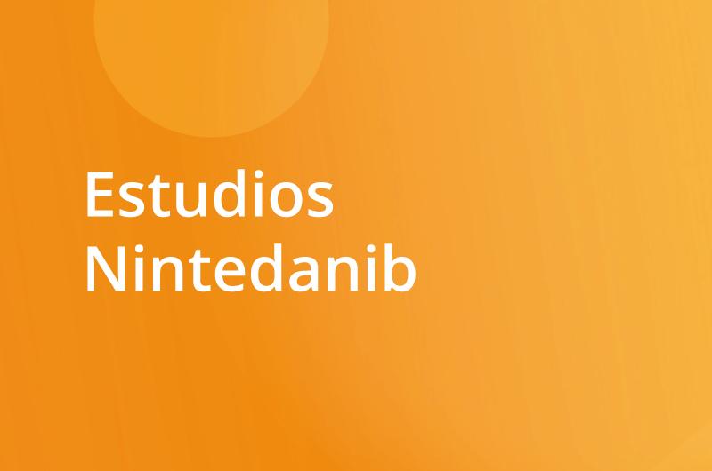 Estudios en ClinicalTrials.gov Estudios nintedanib