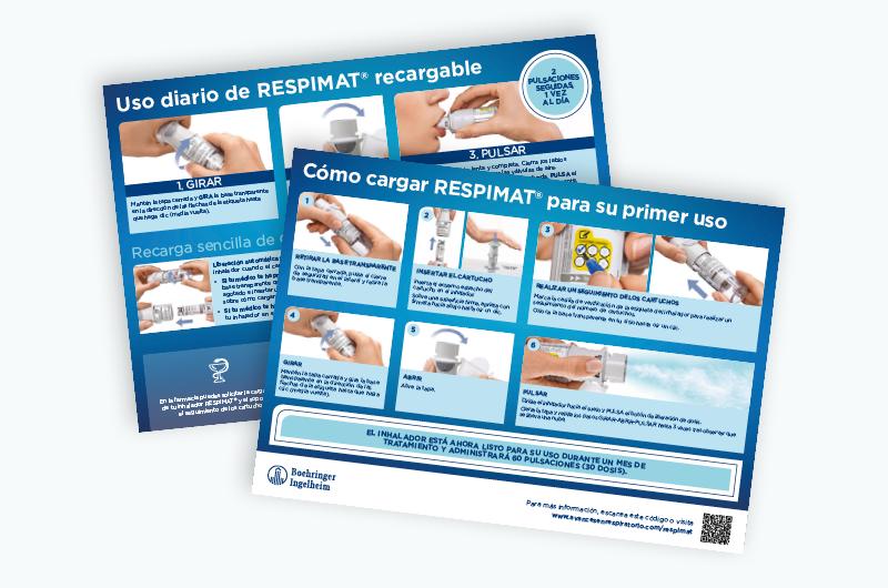 Dispositivo Respimat®  Guía de preparación del dispositivo Respimat®